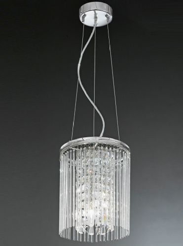 Franklite FL2310/3 Chrome Pendant Light